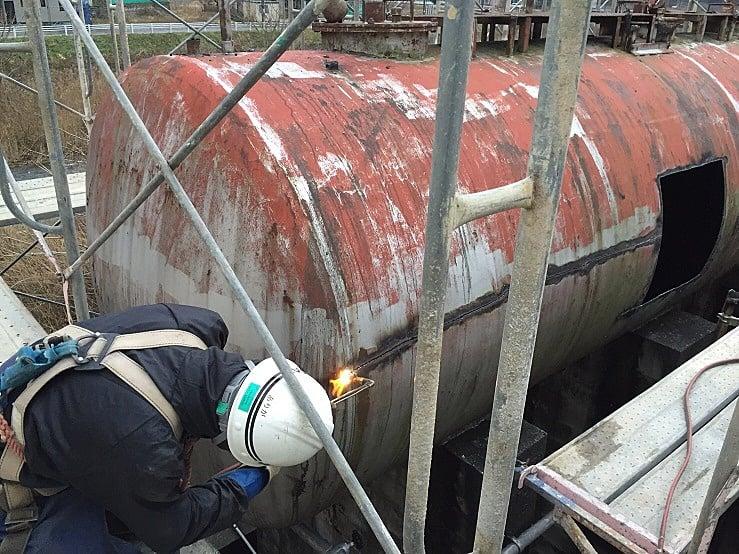 平成29年度 オイルタンク撤去工事