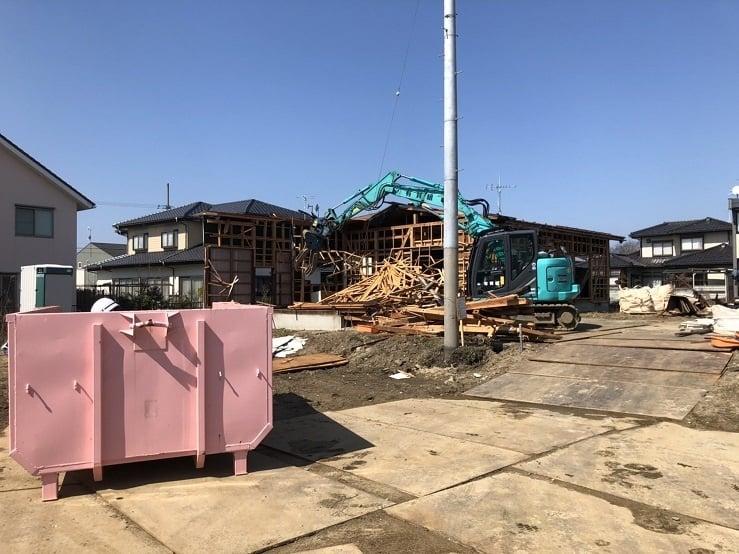 令和元年度 株式会社サトウ商会新整備工場に伴う住宅解体工事