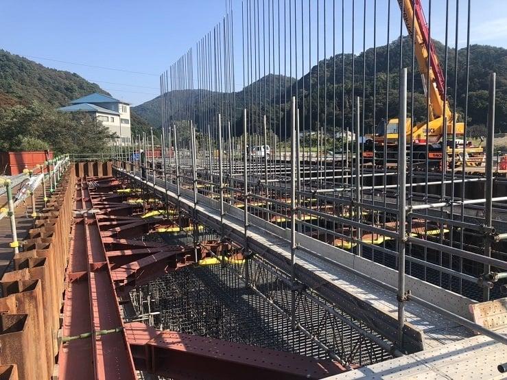 令和元年度 中道地区橋梁下部工工事