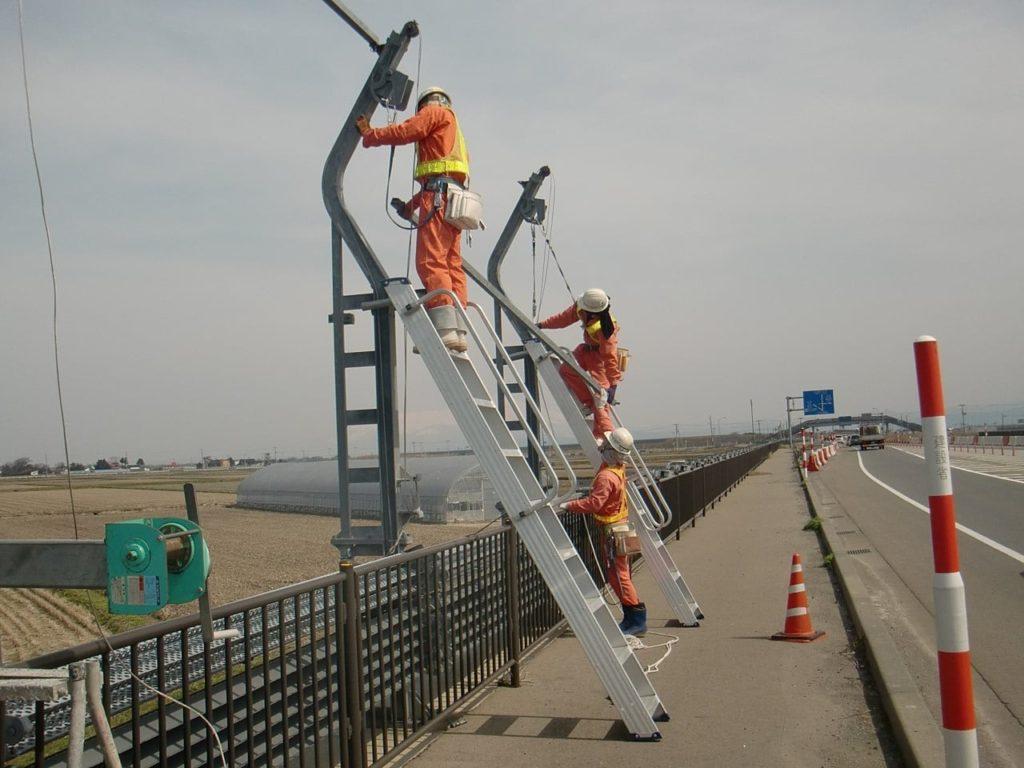 平成25年度 国道防雪柵設置撤去工事