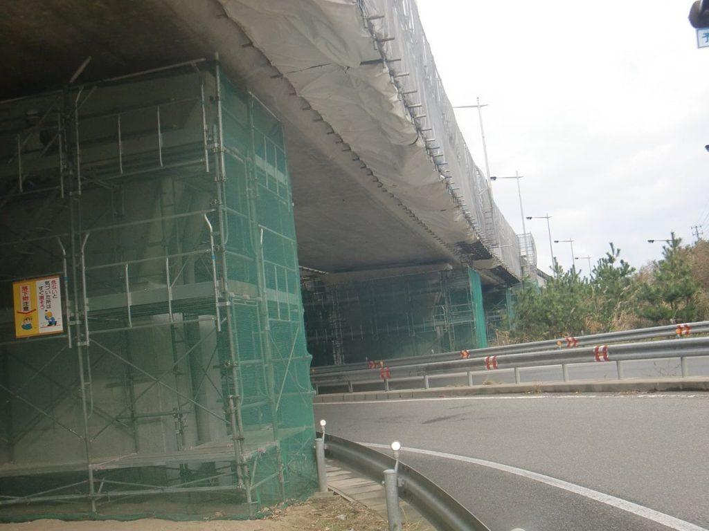 平成26年度 宮海高架橋(上り線)補修工事