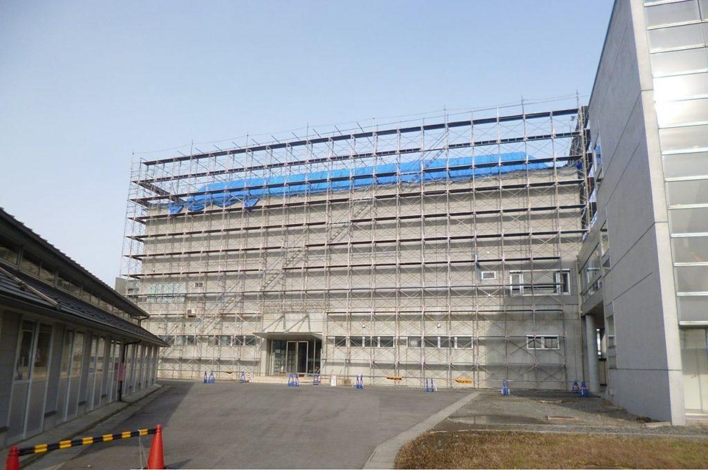 平成25年度 山形県立鶴岡中央高校体育館屋根修繕工事