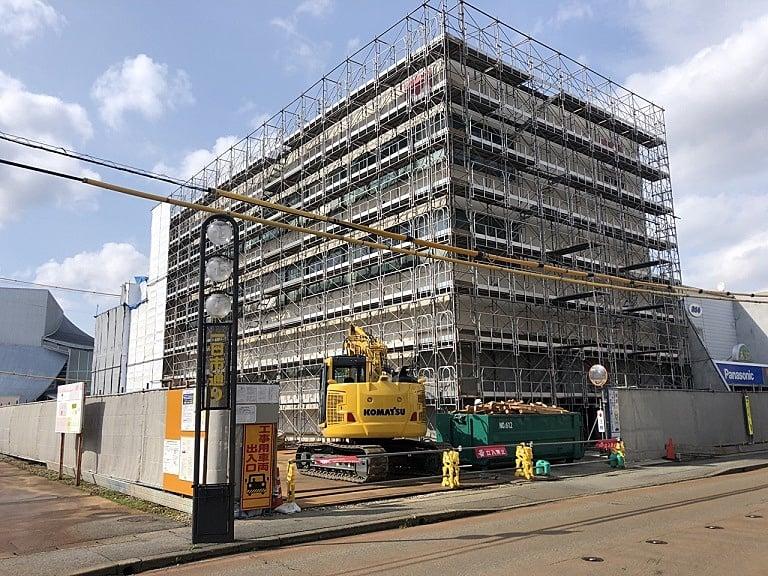 令和元年度 山形銀行鶴岡支店建替えに伴う解体工事