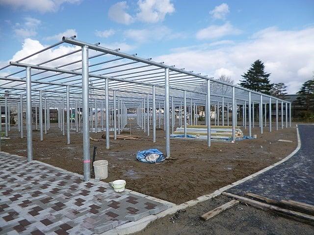 平成27年度 藤島歴史公園整備藤棚設置工事