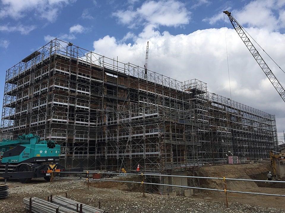 平成29年度 鶴岡市立鶴岡第三中学校改築工事