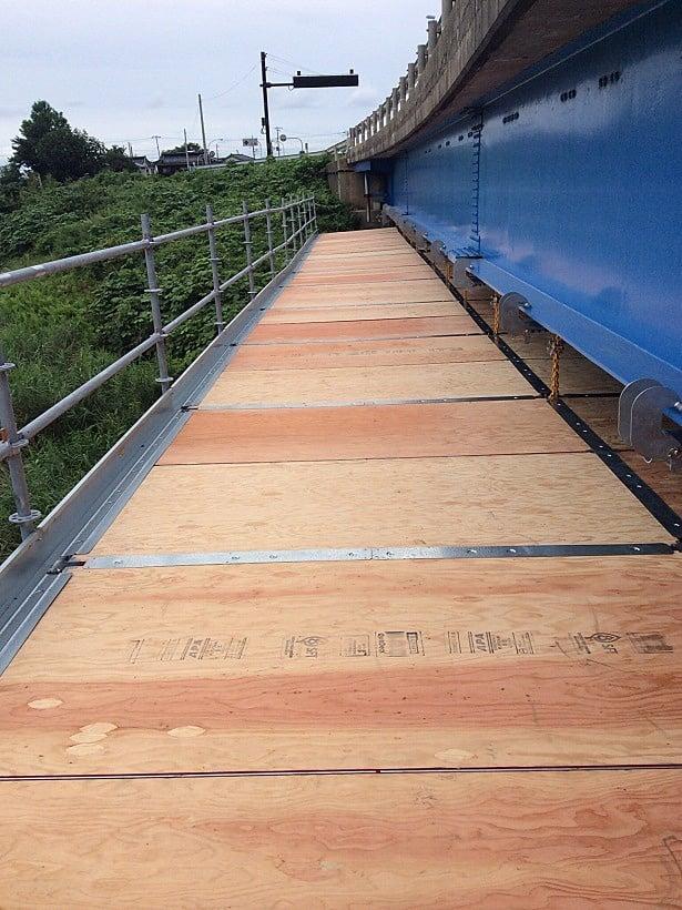 平成26年度 鼠ヶ関橋補修工事