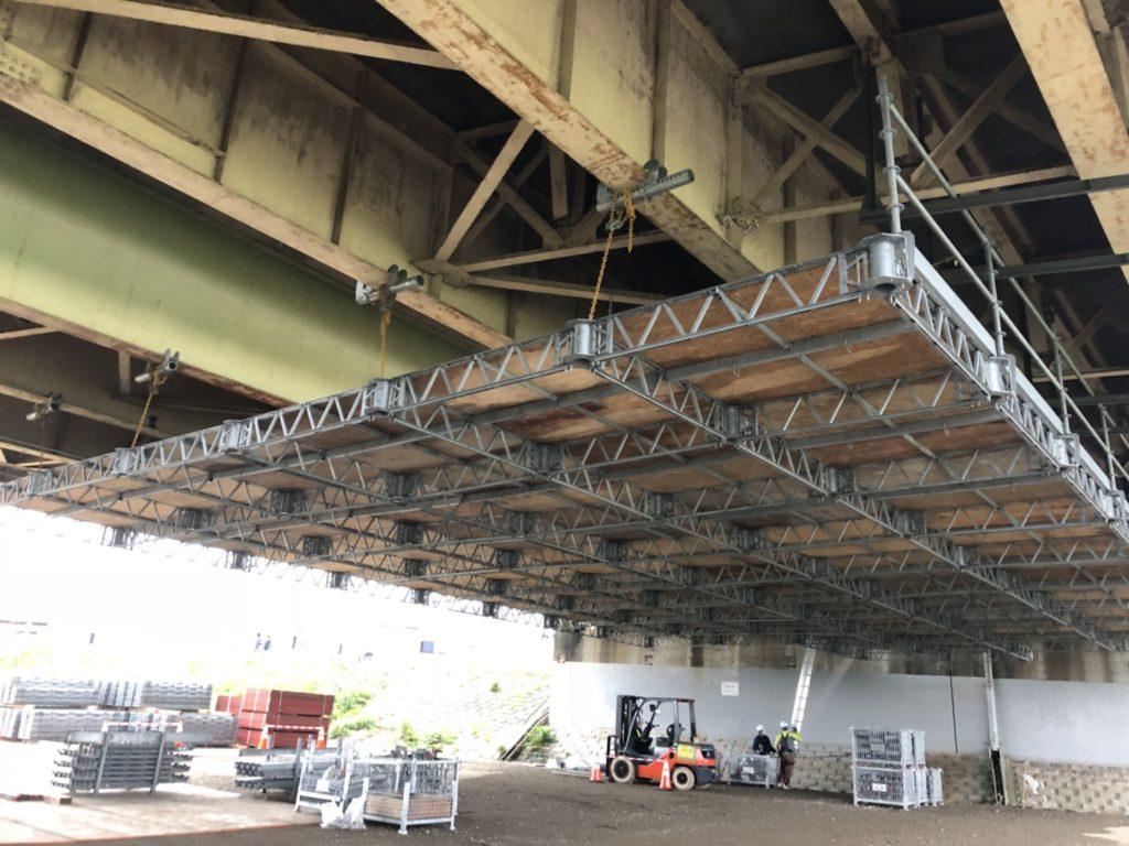 令和2年度 多摩川橋床版取替工事(東京都日野市)