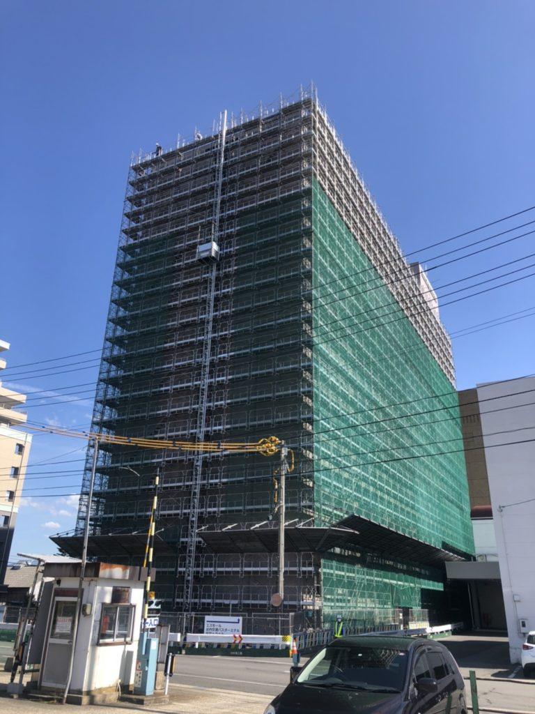 令和2年度 鶴岡SSビル外壁修繕工事